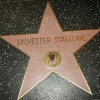 Sylvester Stallone's star on the Hollywood Walk of Fame