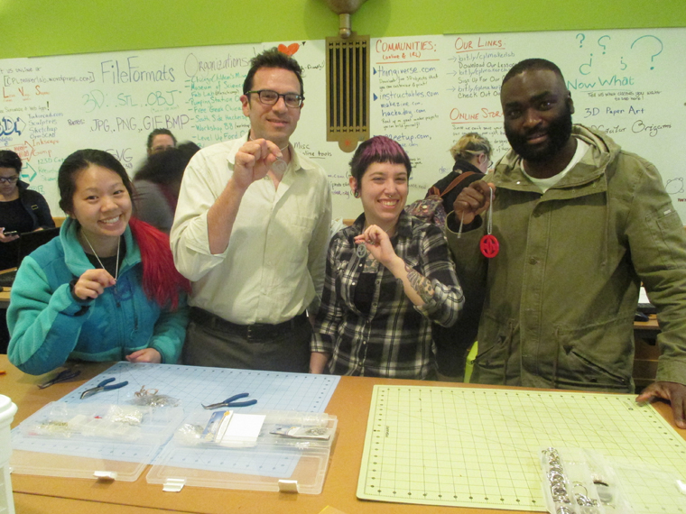 4 Maker Lab patrons show off their creations