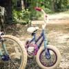 kids bikes on a trail
