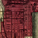 Map, Chicago As It Is, Showing the Burnt District