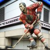 Statue of Stan Mikita
