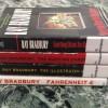Stack of Ray Bradbury's books