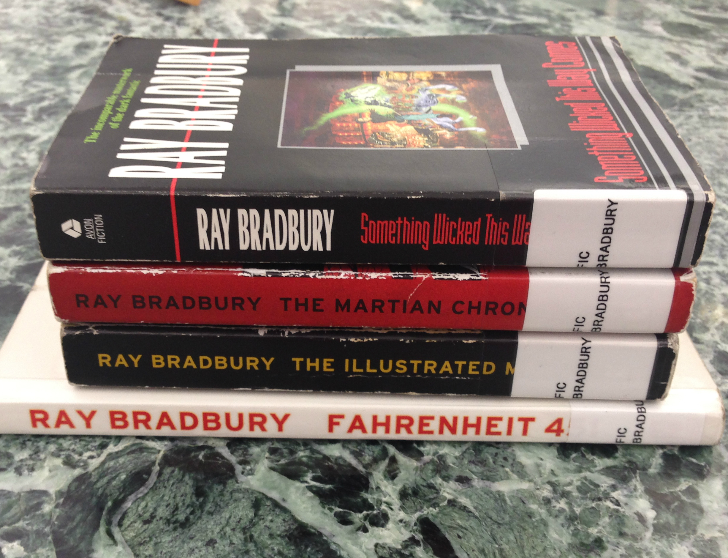 the literary influences of ray bradbury during his childhood Bradbury reminisces about his childhood and the influences which  hear ray flag 2  i loved getting into the mind of ray bradbury during his final years.