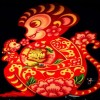 Chinese New Year illustration of a monkey