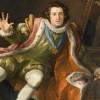 An actor playing Richard III