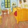 Painting of Vincent Van Gogh's bedroon