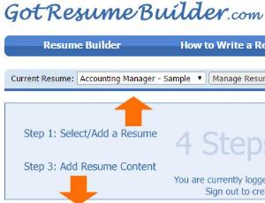 got resume builder