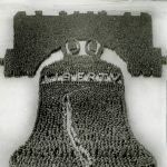 The Human Liberty Bell, 25,000 people, Camp Dix, New Jersey, 1918. Source: Special Collections, World War I Collection, 2008.37.1