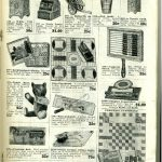Games and toys sold by Mandel Brothers through its 1914 catalog. Source: Trade Catalog Collection, Special Collections